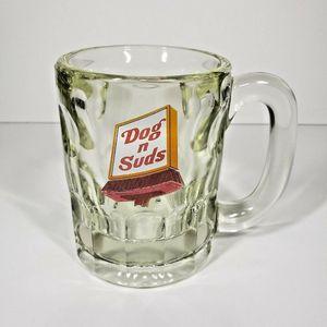 Dog N Suds 4.25 inch Heavy Glass Mug for Sale in Lebanon, OR