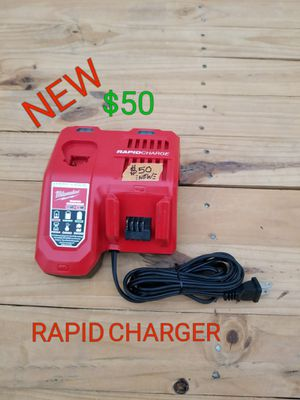 brand New Milwaukee m18 and m12 rapid charger only $50 for Sale in Littlerock, CA