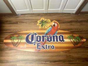 Corona Collectible surf board for Sale in Chicago Ridge, IL