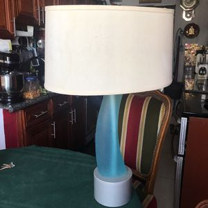 2 blue lamps ART DECO DESIGN for Sale in Miami Beach, FL