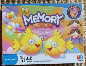 Original Memory Game Ages 3+ for Sale in Portland, OR