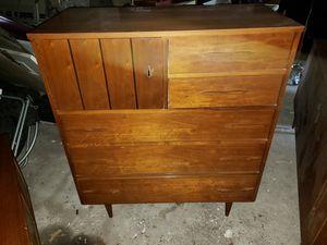 Vintage mid century solid wood bedroom set for Sale in Carteret, NJ