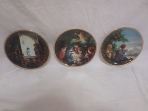 Vintage Precious Moments Bible Story Collection Plate Set for Sale in Lawrenceville, GA