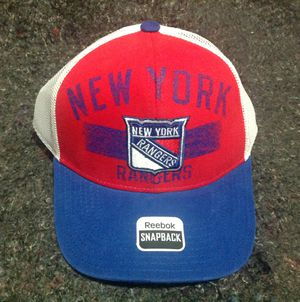 REEBOK NEW YORK RANGERS HAT CAP. NEW for Sale in La Vergne, TN
