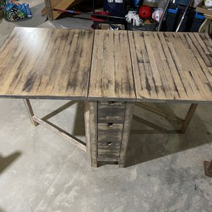 Dining Table With 6 Chairs - Unique And Hand Stained for Sale in Middlebury, CT
