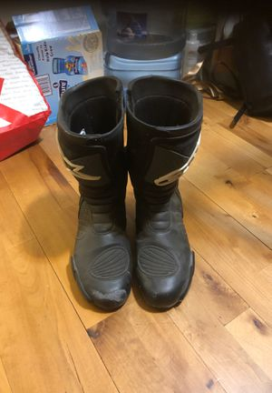 Motorcycle Boots AlpineStars Racing size Euro 42 for Sale in Midway City, CA