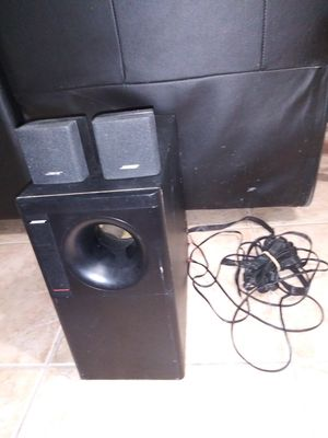 BOSE ACOUSTIMASS 6 SERIES ll SPEAKER SYSTEM for Sale in Miami Lakes, FL