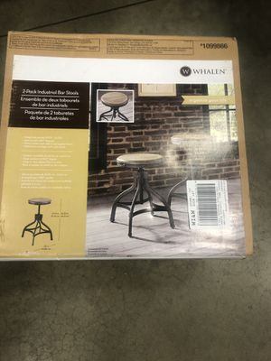 Bar stools brand new still in the box for Sale in Philadelphia, PA