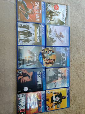 PS3/PS4 Video Games (11 games) - Best Offers for Sale in Fairview Park, OH