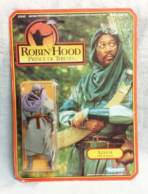 ROBIN HOOD PRINCE OF THIEVES AZEEM W/ SCIMITAR ACTION FIGURE 1991 for Sale in Tampa, FL