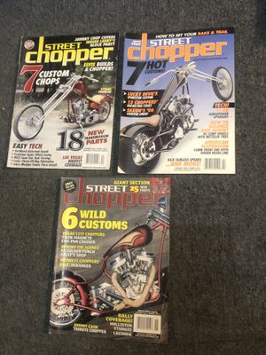 16 Different Biker Magazines & 1 Calendar for Sale in Worcester, MA
