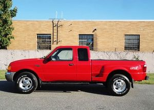 Red 2001 Ford Ranger XLT Clean 4WDWheels for Sale in Pompano Beach, FL