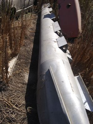 pontoon boat float 24 long tube gut condition .. no lik for Sale in Tulare, CA