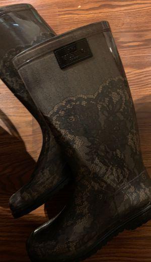 Valentino rain boots size 40 (8 1/2) for Sale in North Las Vegas, NV