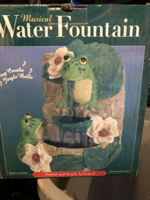 Frog fountain for Sale in Aurora, CO