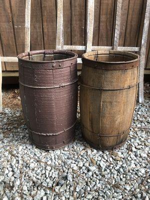 Primitive antique small barrels for Sale in Villa Rica, GA