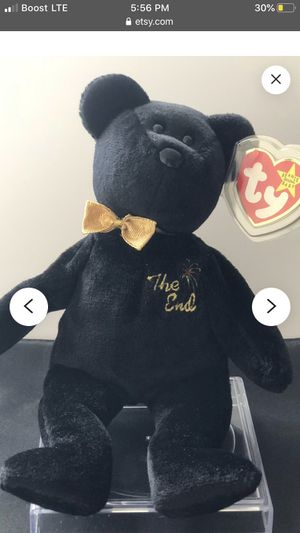 """TY beanie baby the end bear """"error"""" for Sale in Norwalk, CA"""