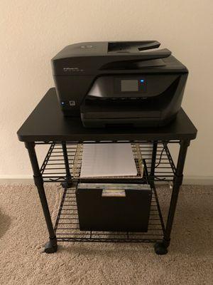 Printer + Table + file organizer for Sale in Orlando, FL