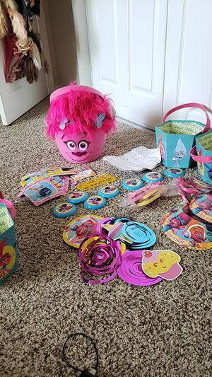 ***TROLLS Party Supplies *** for Sale in La Habra, CA