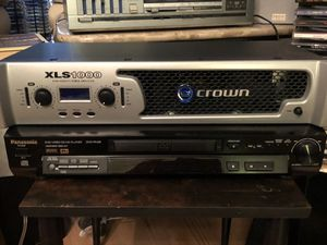 Crown XLS1000 Amplifier XLS 1000 for Sale in Gulfport, FL