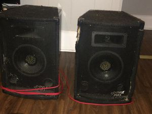 Pyle pro , audio receiver / remote control/AM/FM stereo/Bluetooth/aux /with speakers for Sale in Brockton, MA