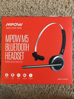 Mpow M5 Wireless Headset for Sale in Columbus, OH