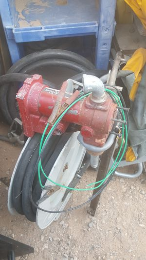 fill rite pump and hose real for Sale in Las Vegas, NV