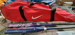 Baseball bag, bats & balls! for Sale in The Bronx, NY