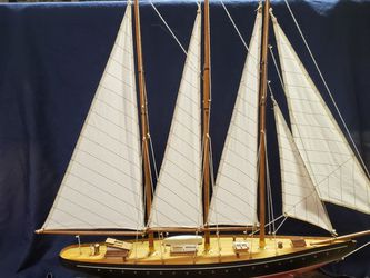 Large Wood Ship Model for Sale in Grayslake,  IL