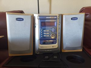 New open box stereo system(with remote) for Sale in Denver, CO