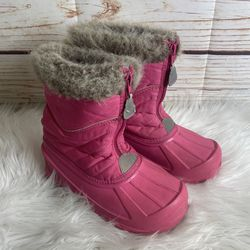 Girls size 2 pink snow boots for Sale in Ontario,  CA