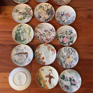 Japanese Appetizer/dessert Porcelain Plates for Sale in Orlando, FL