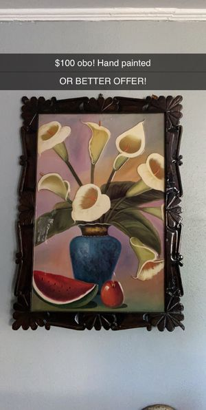 Hand painted wall decor for Sale in Mineola, TX