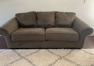 Dark Grey sofa and loveseat couch set (couches) for Sale in Bakersfield, CA