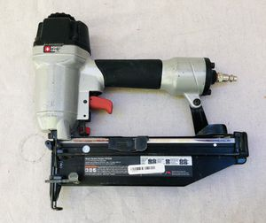 Porter Cable 16 gauge nail gun with misc for Sale in Seattle, WA