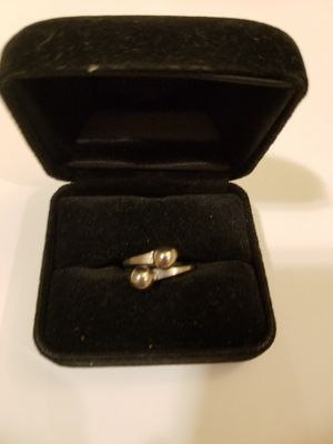 Silver tone vintage ball ring for Sale in Hialeah, FL