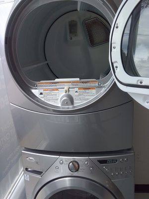 Whirlpool washer and gas dryer used good condition 90days warranty s for Sale in Mount Rainier, MD