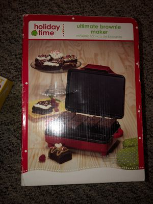 Holiday Time Ultimate Brownie Maker for Sale in Plainfield, IL