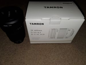 Tamron 18-400mm F/3.5-6.3 DI-II VC HLD All-in-One Zoom for Nikon APS-C Digital SLR Cameras (6 Year Limited USA Warranty) for Sale in Gilbert, AZ