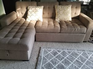 Value city brand, couch for Sale in Dumfries, VA