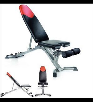 BOWFLEX 3.1 DUMBBELL WORKOUT BENCH! for Sale in Las Vegas, NV