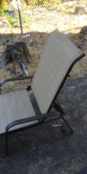 NEW!! Hampton Bay reclining sun chair for Sale in Tacoma, WA
