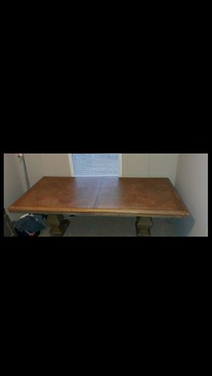 HEAVY ASHLEY FURNITURE DINING TABLE for Sale in Greensboro, NC