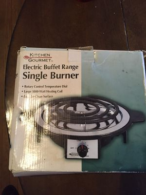 """Single Electric Stove Bruner"" for Sale in Cleveland, OH"