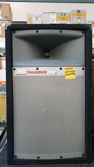 MTX Audio Thunder Pro 2, TP1200 for Sale in Los Angeles, CA