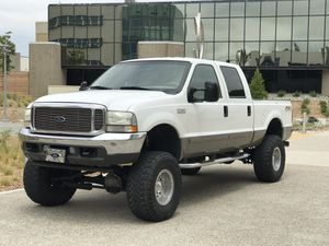 2002 Ford F-350 Lariat Crew Cab Short Bed 7.3L Diesel 4x4 for Sale in San Diego, CA