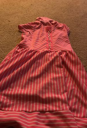 Pink and white striped dress for Sale in Herndon, VA