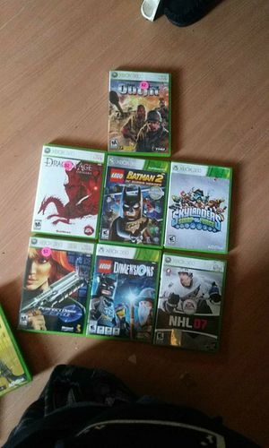 Xbox and 360 games for Sale in River Rouge, MI