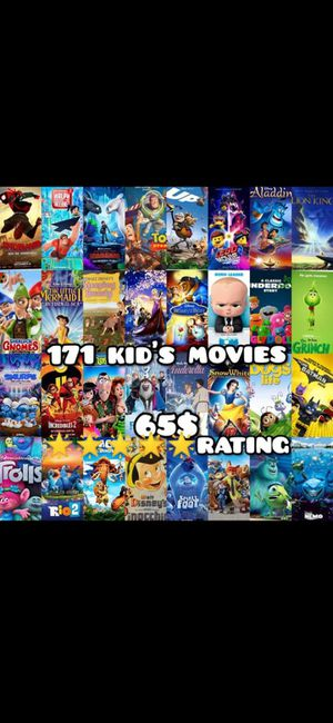 171 kid's movies on usb for Sale in Bellflower, CA