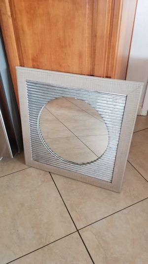 Corrugated metal mirror for Sale in Upland, CA